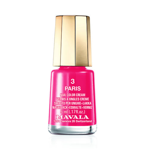 MAVALA- Paris 3 Nail Polish and Cherry Sweet 576 Lipstick