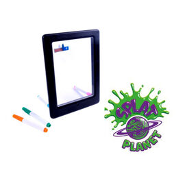 Splat Board - Neon Art glow Drawing Board with 4 Markers and 12 Tracing Cards- Estimated delivery time 5-7 working days