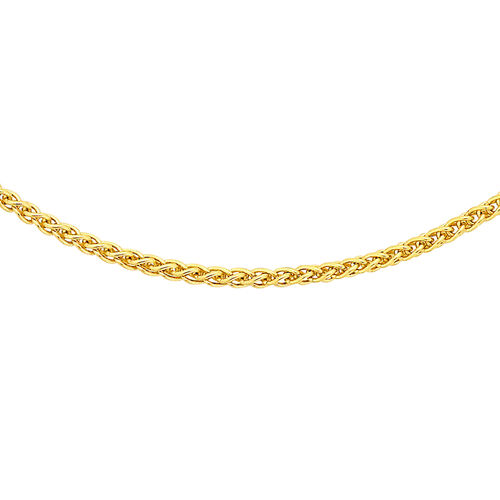 PERSONAL SHOPPER DEAL- 9K Y Gold Spiga Chain (Size 18)