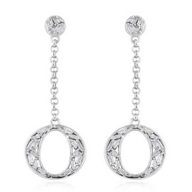 Diamond (Bgt) Earrings (with Push Back) in Platinum Overlay Sterling Silver 0.330 Ct.
