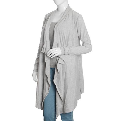 100% Cotton Light Grey Colour Apparel (Size 80x45 Cm)