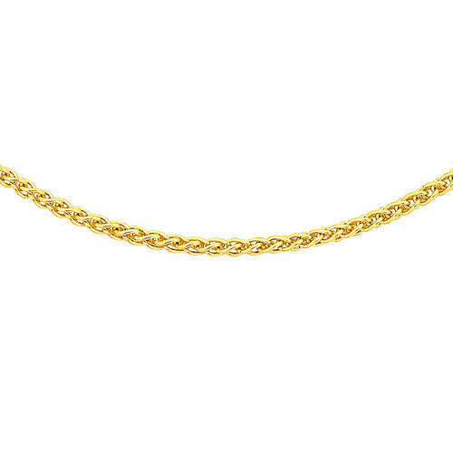 Close Out Deal ILIANA 18K Yellow Gold Spiga Chain (Size 16)