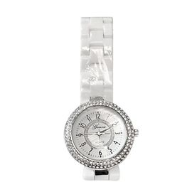 Genoa White Crystal (1.00 Ct) Watches  1.000  Ct.