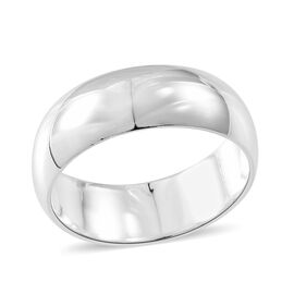 Thai Sterling Silver Band Ring, Silver wt. 4.60 Gms.