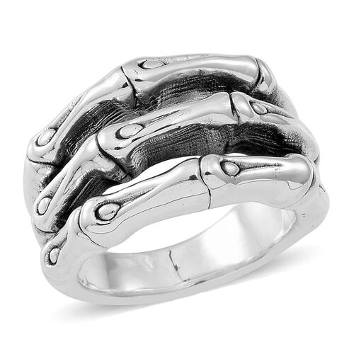 Thai Sterling Silver Ring, Silver wt 5.73 Gms.
