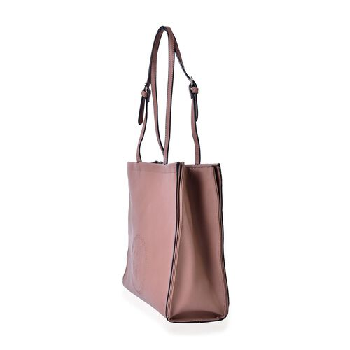YUAN COLLECTION Elegant Camel Carryall Tote Bag (Size 33.5x29x11 Cm)