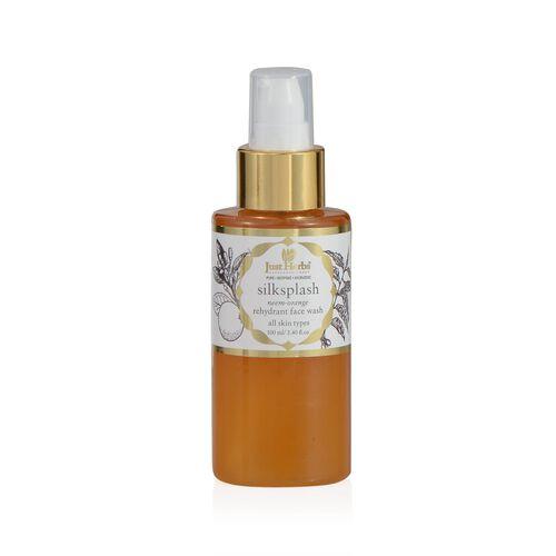 (Option 2) Just Herbs Silksplash (100ml) and Apricot Sparkle Invigorating Skin Radiance Scurb (100g) and Silkskin Indian Ginseng Moisturising Cream (Normal/Dry) (50g)
