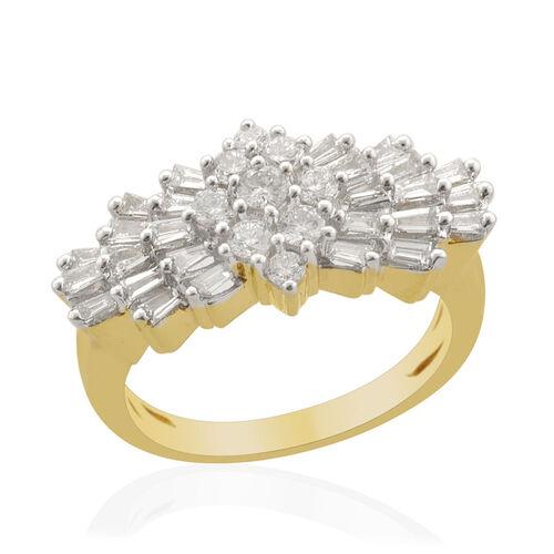 ILIANA 18K Y Gold IGI Certified Diamond (Rnd) (VS-SI /G-H) Ring  1.000 Ct.