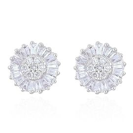 ILIANA 18K White Gold 0.50 Carat IGI Certified Diamond (Rnd) (SI/G-H) Stud Earrings (with Screw Back)