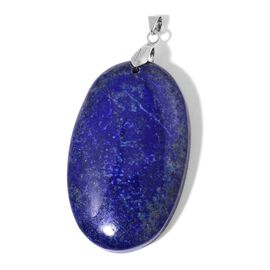 Lapis Lazuli Pendant in Rhodium Plated Sterling Silver 130.000 Ct.