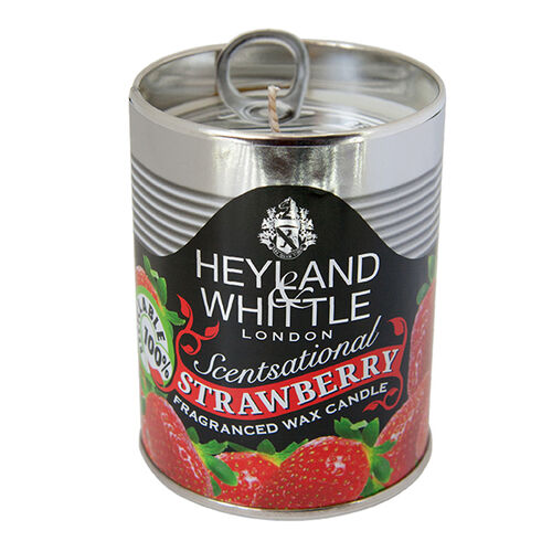 Heyland and Whittle Kitchen and Garden Candle Strawberry 250g Tin