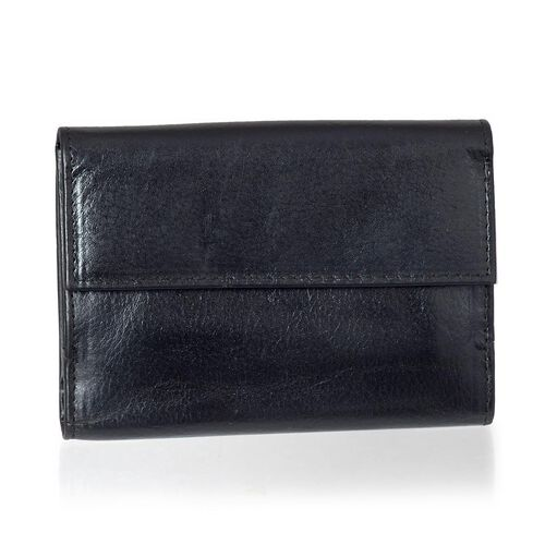 Close Out Deal Black Genuine Leather Wallet