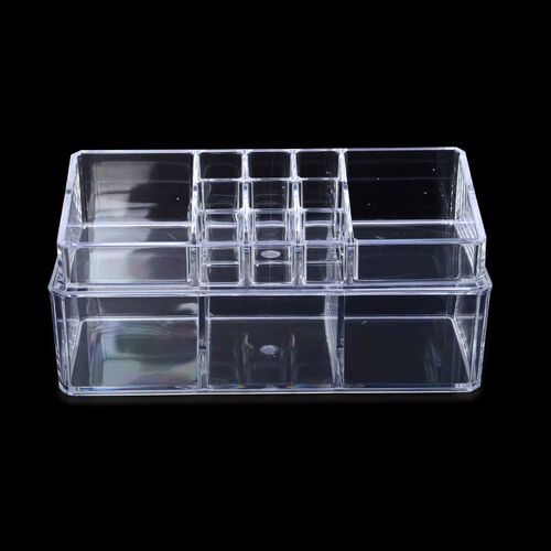 Transparent Cosmetic Organizer (Size 23x11x8.5 Cm)