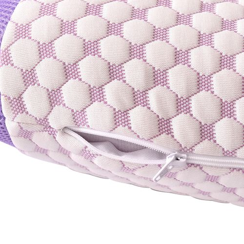 Premium Collection- Aroma Therapy  Eucalyptus Infused Memory Foam Air Flow Pillow (Size 65x45 Cm)
