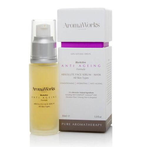 AROMAWORKS-Absolute Face Serum- Anti Aging -30ml