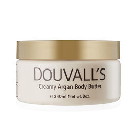 Alicia Douvall- Argan Body Butter 240ml Unscented - Estimated delivery within 5-7 working days