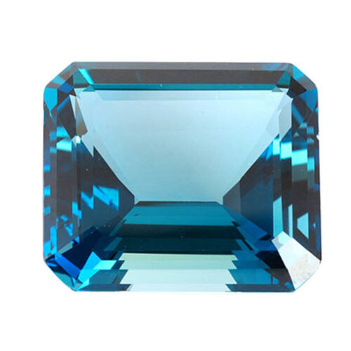London Blue Topaz (Oct 18x3 Faceted 4A) 15.000 Cts