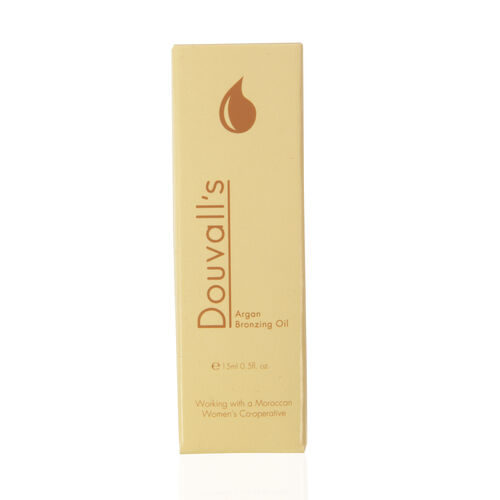 Alicia Douvall- Argan Oil Bronzing 15ml- Estimated delivery within 7-10 working days