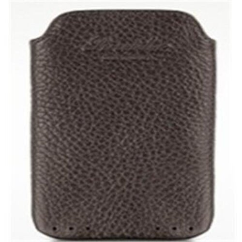 Genuine Leather Dark Chocolate Colour iPhone Mobile Cover with Secure Strap
