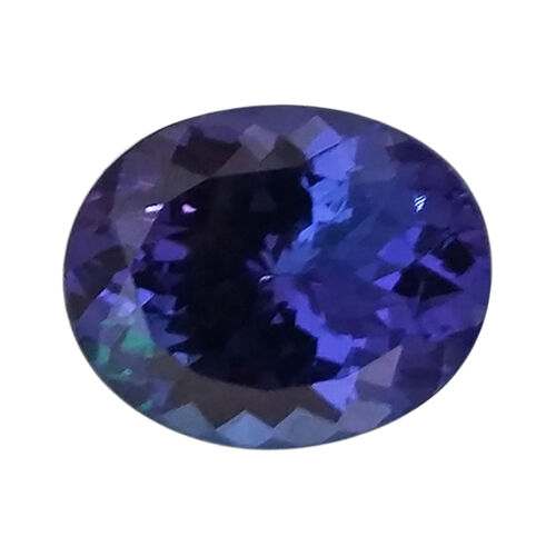 Tanzanite Oval 14.22x12.09 Faceted 4A 11.719 Cts