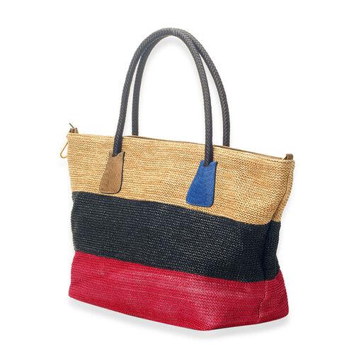 Multi Colour Hand Bag (Size 23x12.4x8 inch)