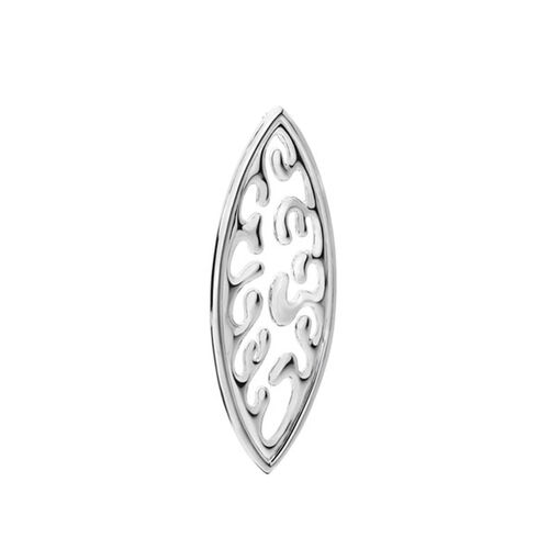 LucyQ Ocean Wave Pendant in Sterling Silver 15.00 Gms.