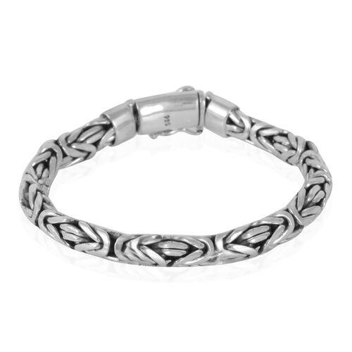 Royal Bali Collection Sterling Silver Bracelet (Size 8), Silver wt. 54.56 Gms.