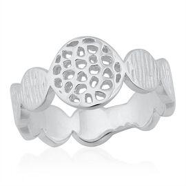 RACHEL GALLEY Sterling Silver Ocean Ring, Silver wt 4.01 Gms.
