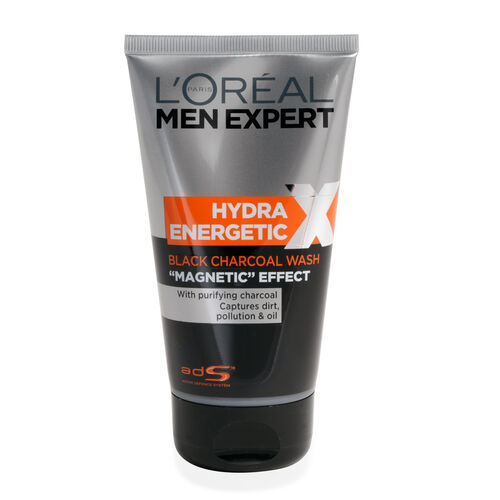 LOreal Men Expert Hydra Energetic X-Treme Black Charcoal Face Wash 150ml