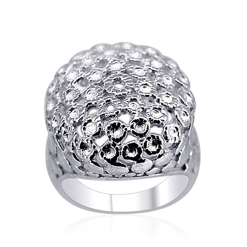 Thai Sterling Silver Ring, Silver wt 7.00 Gms.