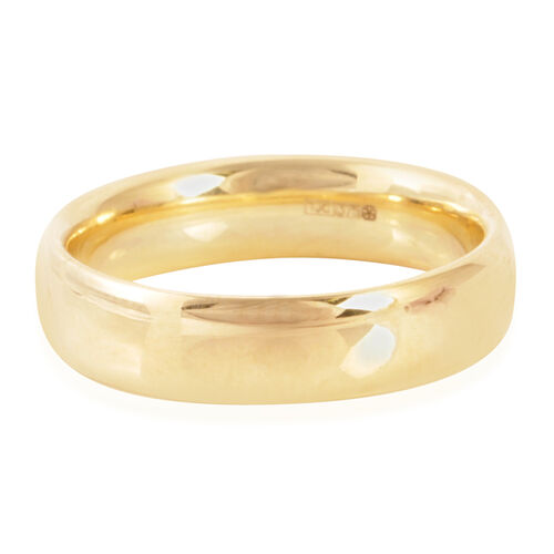 Limited Edition - Close Out Deal Hand Polished Collection 9K Y Gold Band Ring.