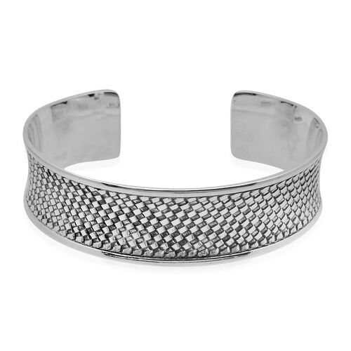 Royal Bali Collection Sterling Silver Bangle (Size 7.5), Silver wt 28.50 Gms.