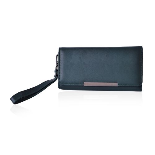 Roseberry Oilve Green Clutch Bag / Travel Wallet (Size 19x10 Cm)
