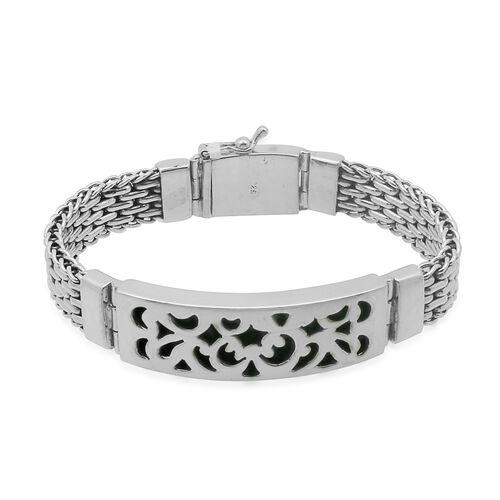 Royal Bali Collection Sterling Silver Bracelet (Size 8.5), Silver wt 63.70 Gms.