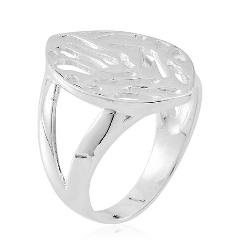 Thai Sterling Silver Ring, Silver wt 4.85 Gms.