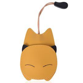 Lifestyle Day Mega Deal - Mustard Colour Cat Design Key Holder (Size 14X7.7 Cm)