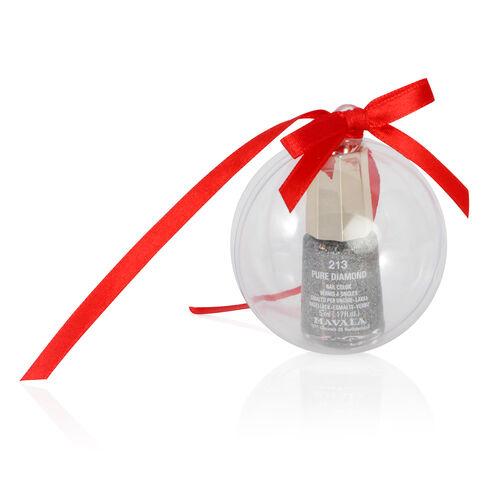 Mavala 3 x Nail Polish Baubles- Pure Diamond, Red Diamond and Pink Diamond