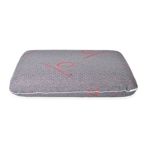 Dual Side Soft and Firm Memory Foam With Bamboo Charcoal Fabric Cover