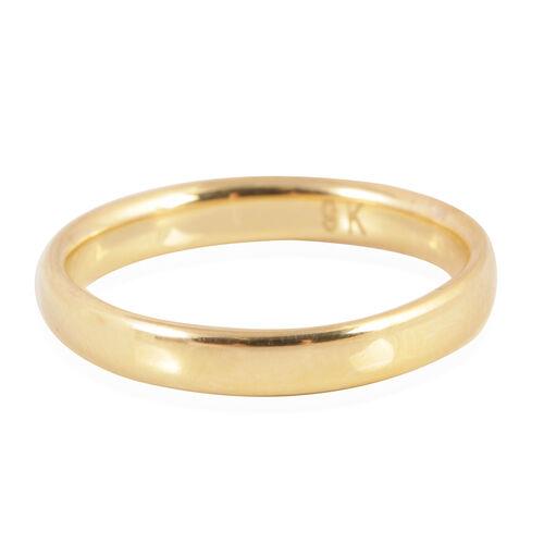 Royal Bali Collection 9K Y Gold Band Ring