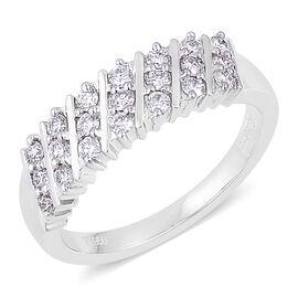 RHAPSODY 950 Platinum IGI Certified 0.50 Carat Diamond VS E-F Ring