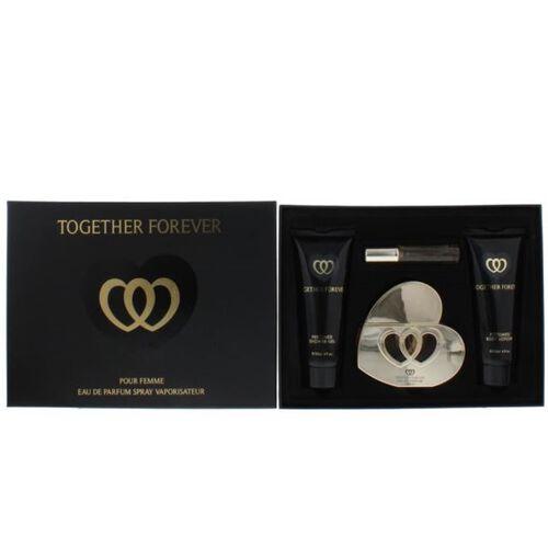 Together Forever Gift Set- Eau de Parfum 100ml, Purse Spray Eau de Parfum 15ml, Body Lotion 150ml and Body Wash 150ml