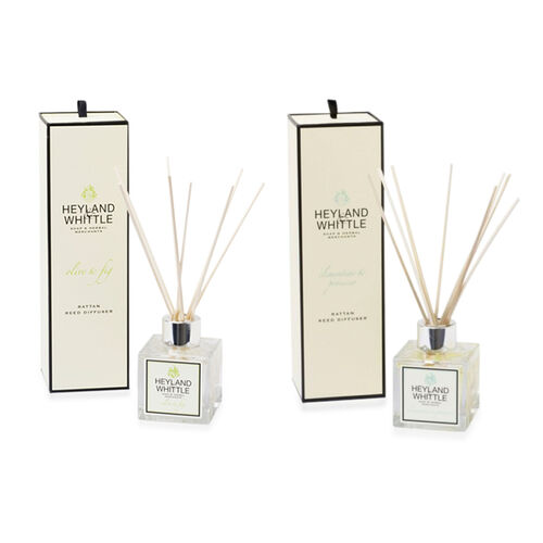 Heyland and Whittle Clementine and Prosecco and Olive and Fig Diffusers - Floral and Food