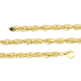 Limited Available - 9K Yellow Gold Prince of Wales Necklace (Size 22), Gold wt 8.78 Gms.