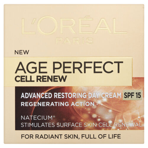 LOreal Paris Age Perfect Cell Renew Day Cream SPF15 50ml