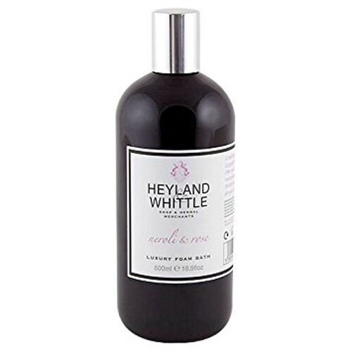 HEYLAND AND WHITTLE - Neroli and Rose Hand Wash and Hand Lotion Caddy with Foam Bath