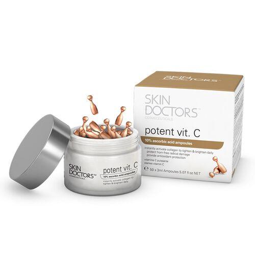 SKIN DOCTORS- Potent Vit.C Day Ampoules  x 50 and Potent Vit.A Night Ampoules x 50