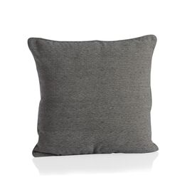 Diamond Pattern Grey Colour Cushion (Size 43x43 Cm)