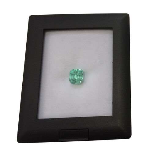 Boyaca Colombian Emerald (Octagon 7.4x6.8 Faceted 4A) 1.560 Ct.