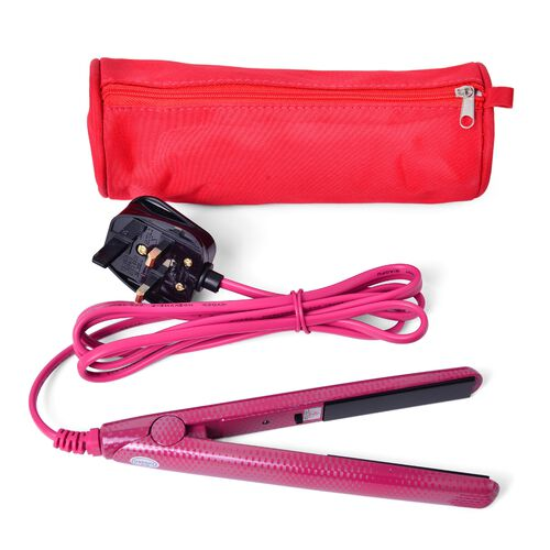 Pink Colour Hair Straightener in a Bag