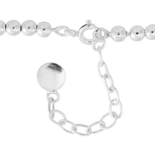 Vicenza Collection-Sterling Silver Necklace (Size 18 with 1.5 inch Extender), Silver wt. 18.54 Gms.